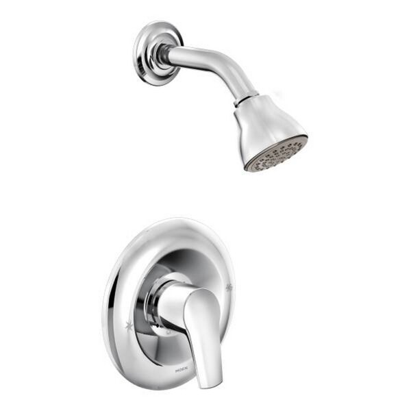 Moen Method Chrome PosiTemp Shower Fixture Free Shipping Today Overstock