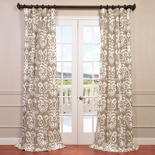 Exclusive Fabrics Sri Lanka Printed Cotton Twill Curtain