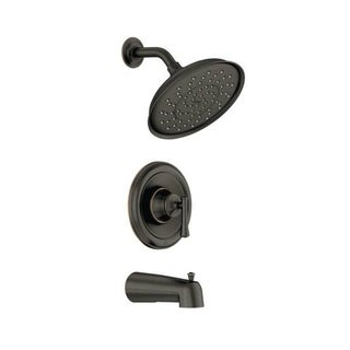 Link to Moen Ashville Tub and Shower Kit, Mediterranean Bronze (82877BRB) Similar Items in Floor Lamps