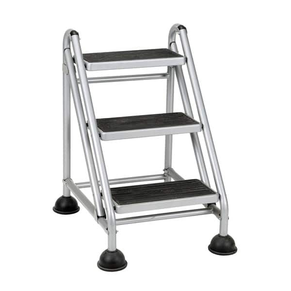 Fabulous Shop Cosco 3 Step Rolling Step Ladder Free Shipping Today Beatyapartments Chair Design Images Beatyapartmentscom