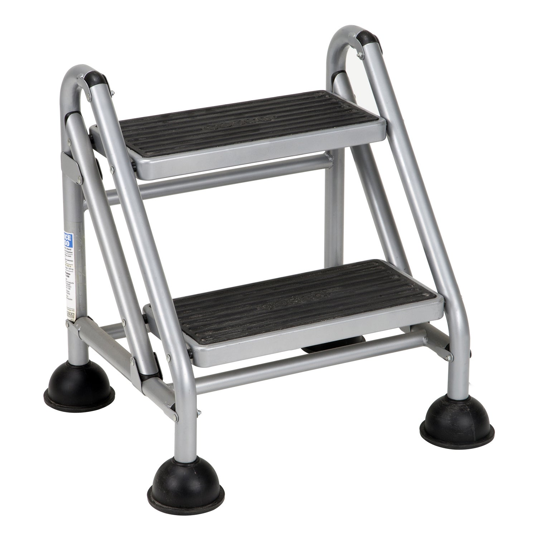 Enjoyable Cosco 2 Step Rolling Step Ladder Inzonedesignstudio Interior Chair Design Inzonedesignstudiocom