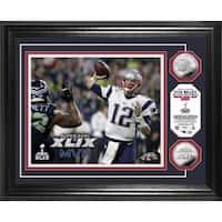 New England Patriots Super Bowl XLIX MVP Silver Coin Photo Mint