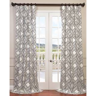 Exclusive Fabrics Pavers Cotton Twill Curtain Panel