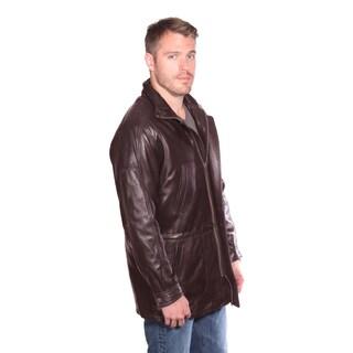 Men's Garner Leather Jacket