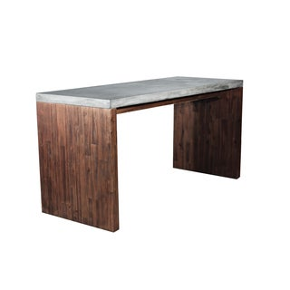 Sunpan 'MIXT' Madrid Concrete Desk