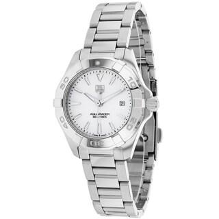 Tag Heuer Women's WAY1412.BA0920 Aquaracer Round Silvertone Bracelet Watch