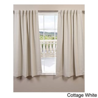 Exclusive Fabrics Bellino 63-Inch Rod Pocket Blackout Curtain Panel