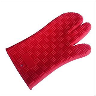 Silicone 3-finger Oven Mitt Glove