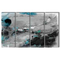 Ready2HangArt 'Inkd VII' 4-piece Canvas Art Set