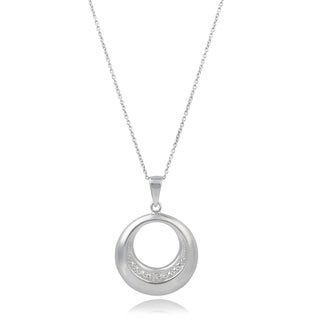 Journee Collection Sterling Silver Diamond Accent Necklace