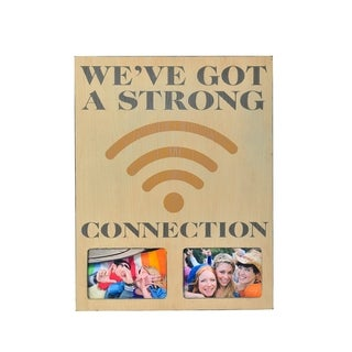 Melannco 'We've Got A Strong Connection' Collage Picture Frame