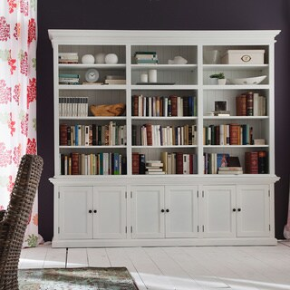 The Gray Barn Ora Mahogany Triple-bay Hutch Unit