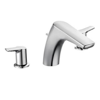 Moen Method Chrome Two-handle Low Arc Roman Tub Faucet
