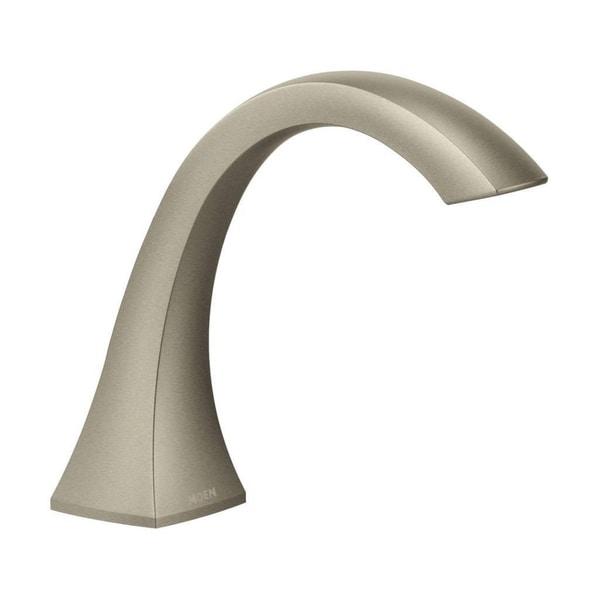 Shop Moen Voss Brushed Nickel High Arc Roman Tub Faucet Free