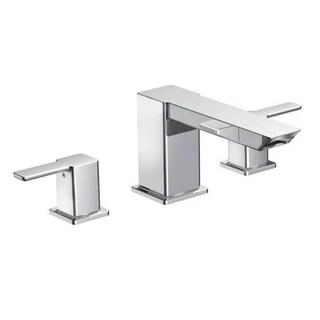 Moen 90-degree Chrome Two-handle High Arc Roman Tub Faucet