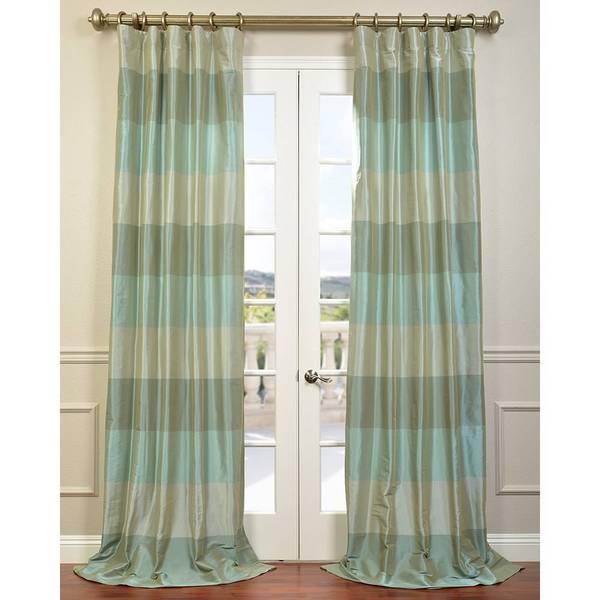 Exclusive Fabrics Aqua/ Teal/ Silver Faux Silk Taffeta Iridescence ...