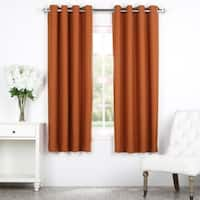 Exclusive Fabrics Bellino Grommet Top 63-Inch Blackout Curtain Panel