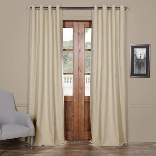 Exclusive Fabrics Bellino Grommet Top 84-Inch Blackout Curtain Panel