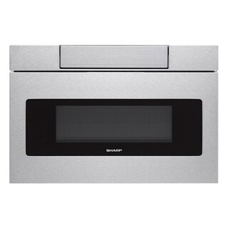 Sharp 24-inch Stainless Steel Microwave Drawer, Model SMD2470AS - Silver
