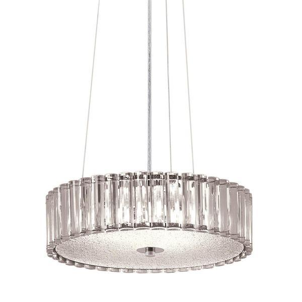 Shop Kichler Lighting Contemporary 4 Light Chrome Pendant Free Shipping Today