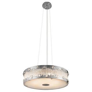 Kichler Lighting Contemporary 6-light Brushed Nickel Pendant