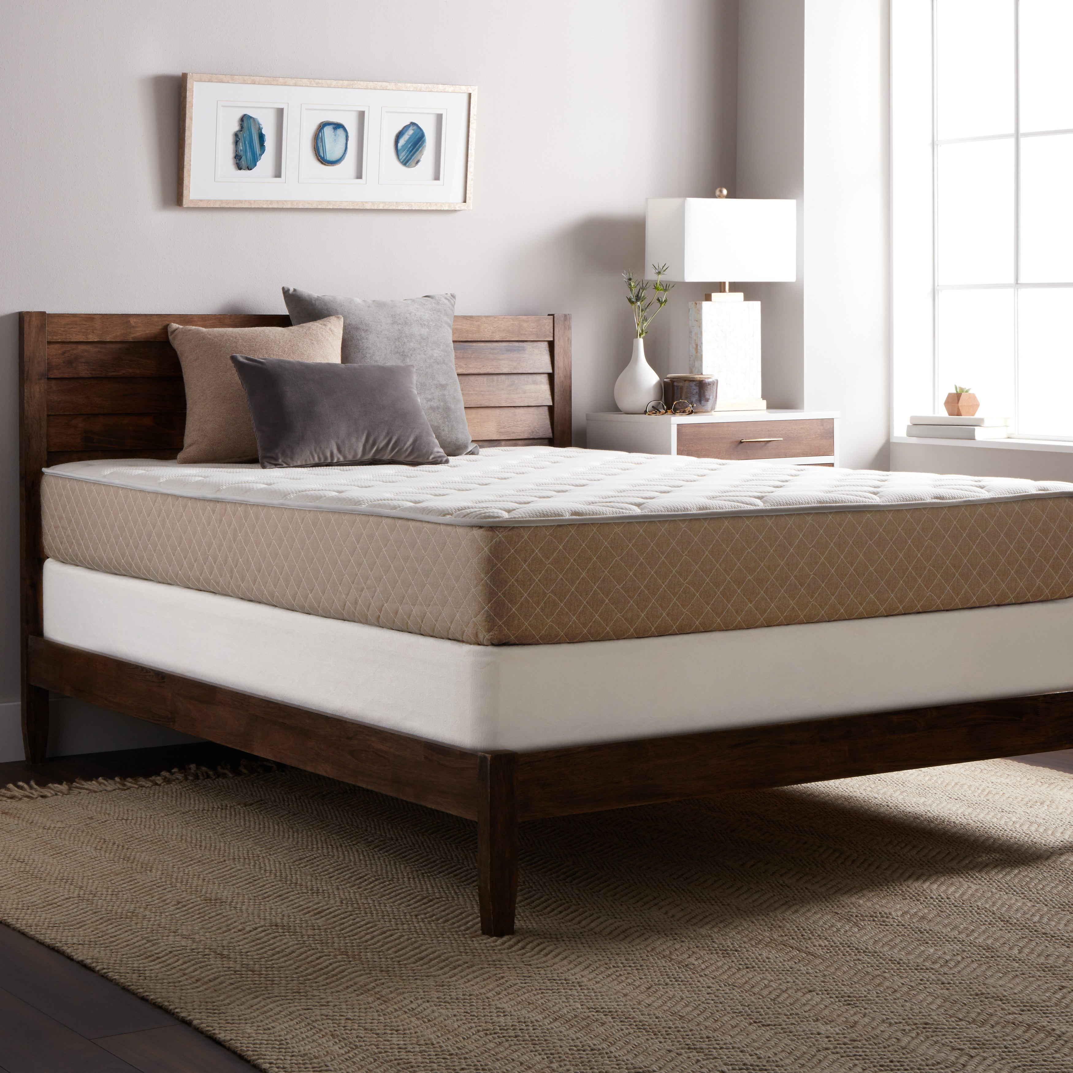 Select Luxury 10-inch King Size Quilted Memory Foam Mattr...