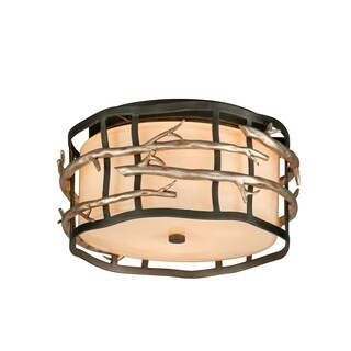Troy Lighting Adirondack 2-light Ceiling Flush