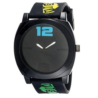 Xtreme Boys Black Plastic Band Watch