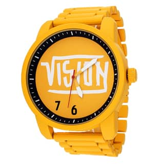 Xtreme Vision Yellow Metal Round Watch|https://ak1.ostkcdn.com/images/products/9827123/P16991447.jpg?impolicy=medium