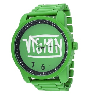 Xtreme Vision Street Wear Green Metal Round Watch