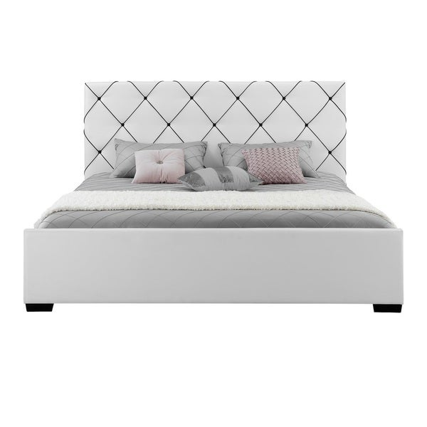 DHP Hollywood Premium Upholstered Bed   Free Shipping Today   Overstock com    16991497. DHP Hollywood Premium Upholstered Bed   Free Shipping Today