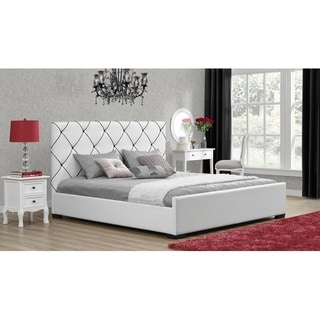 DHP Hollywood Premium Upholstered Bed