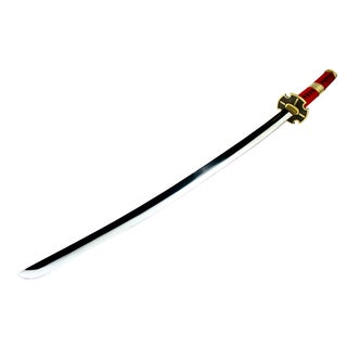 Red and Gold 41-inch Collectible Katana Samurai Sword