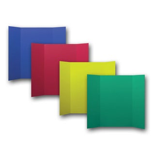 Flipside Corrugated Color Project Board (Pack of 24) (Option: Multi-color)