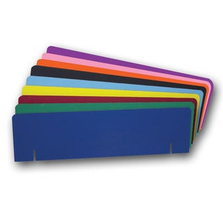 Flipside Corrugated Color 10 x 36-inch Project Board Header (Case of 24)