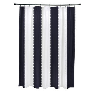 Nautical Stripes Shower Curtain (2 options available)