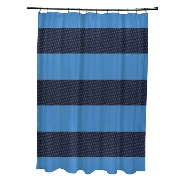 Mixed Stripes Pattern Shower Curtain