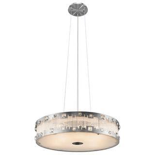 Kichler Lighting Contemporary 8-light Brushed Nickel Pendant