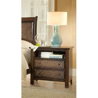 Kingston Isle Havana Brown Night Stand