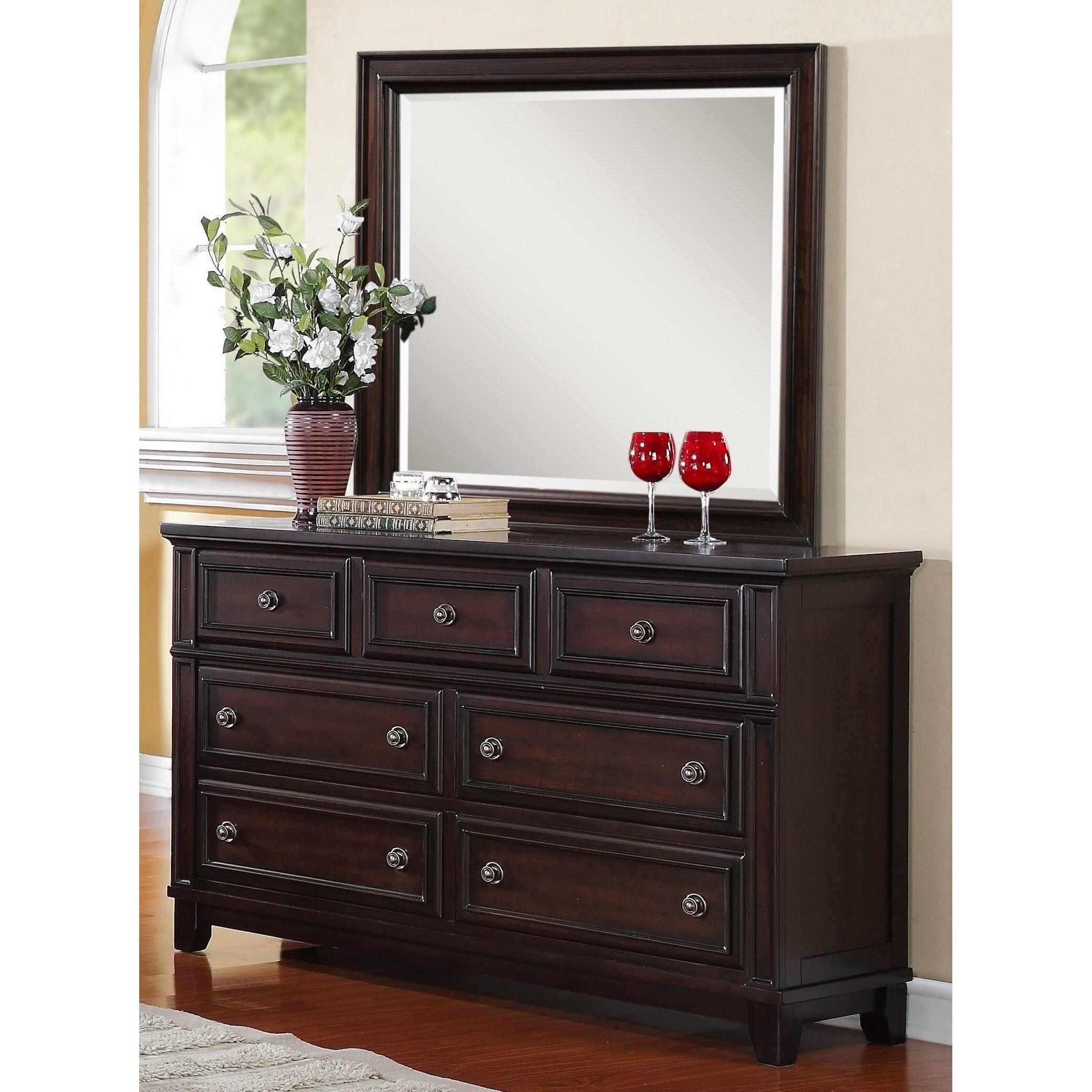 Copper Grove Dartmoore Dresser & Mirror Set
