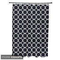 Trellis Geometric Pattern Shower Curtain