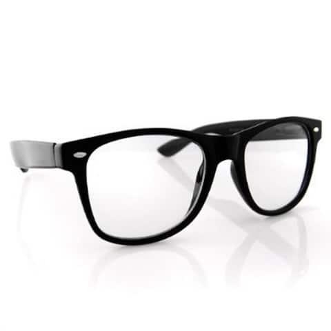 Black Frame Nerdy Glasses