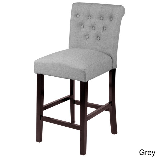 Sopri Upholstered Counter Chairs Set Of 2 16992063