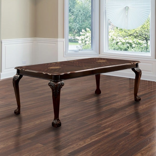 "Furniture of America Ranfort Formal 82"" Dining Table"