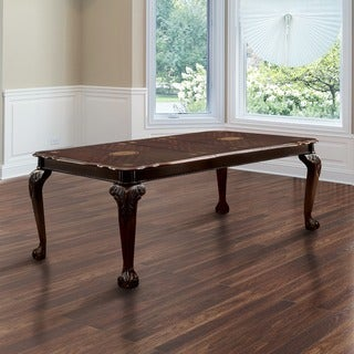 "Furniture of America Ranfort Formal 82"" Dining Table"