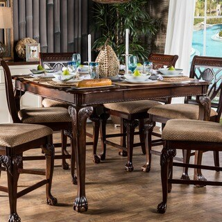 Gracewood Hollow Worra Formal Counter Height Dining Table - Cherry