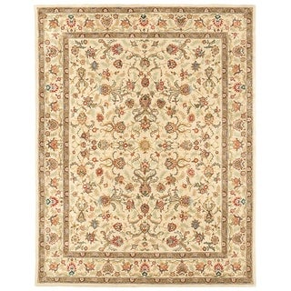 "Grand Bazaar Tufted Rosemont Rug in Ivory/Ivory 3'-6"" x 5'-6"""
