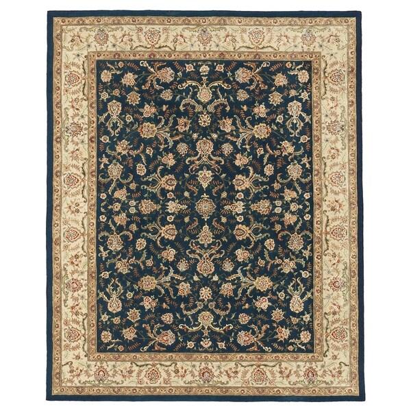 "Grand Bazaar Tufted Rosemont Rug in Blue/Ivory 3'-6"" x 5'-6"" - 3'6"" x 5'6"""