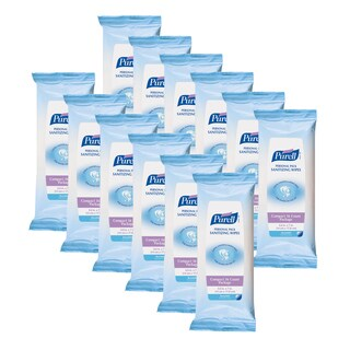 Purell Sanitizing Wipes 36-count Personal Pack (Pack of 12)