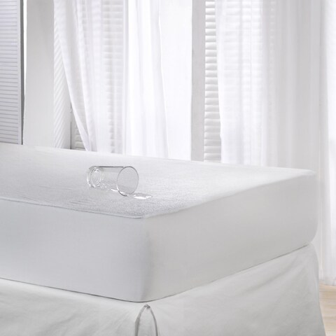 Waterproof II Terry Microfiber Mattress Pad